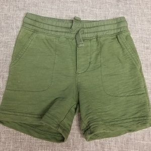 Carter's boys green shorts 18 months